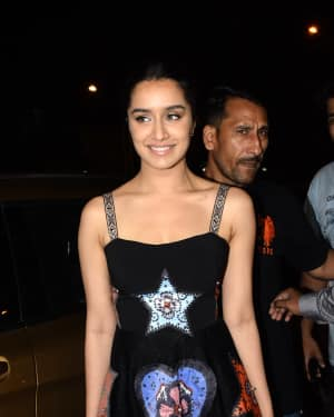 Shraddha Kapoor - Photos: Wrap Up party of film Stree at Bastian