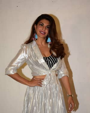 Jacqueline Fernandez - Photos: Race 3 Media Interactions at Mehboob Studio
