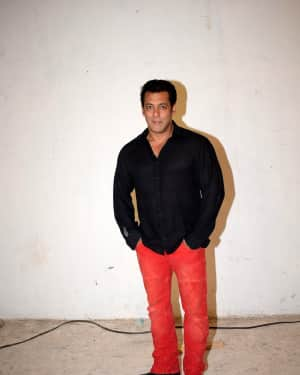 Salman Khan - Photos: Race 3 Media Interactions at Mehboob Studio