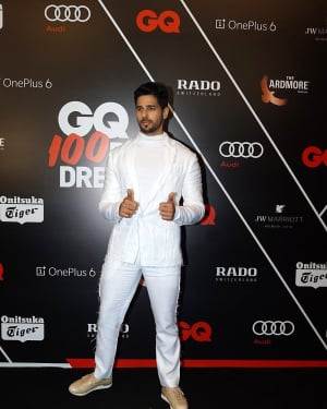 Sidharth Malhotra - Photos: Red Carpet Ceremony of GQ Best Dressed 2018