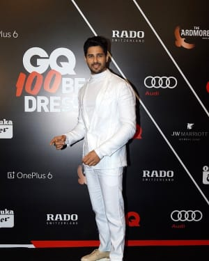 Sidharth Malhotra - Photos: Red Carpet Ceremony of GQ Best Dressed 2018 | Picture 1583588
