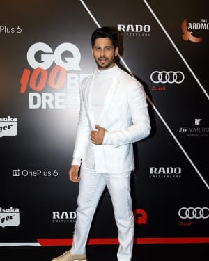 Sidharth Malhotra - Photos: Red Carpet Ceremony of GQ Best Dressed 2018 | Picture 1583589