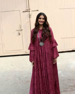 Photos: Sonam Kapoor Spotted at Mehboob Studio