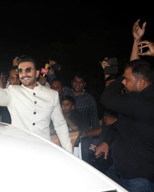 Photos: Ranveer & Deepika At Mumbai Airport As They Leave For Their Wedding In Italy