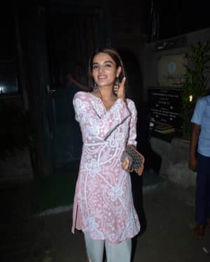 Photos: Nidhhi Agerwal spotted at Pali Village cafe