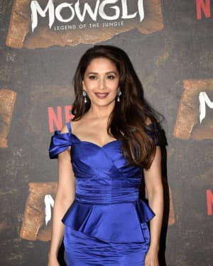 Madhuri Dixit - Photos: Mowgli world premiere at Yashraj studios