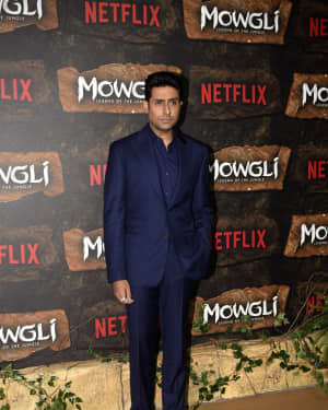 Abhishek Bachchan - Photos: Mowgli world premiere at Yashraj studios