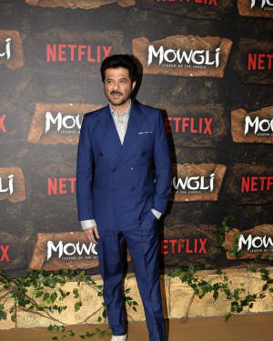 Anil Kapoor - Photos: Mowgli world premiere at Yashraj studios