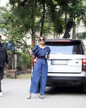 Photos: Anushka Sharma Spotted At Anand Rai's