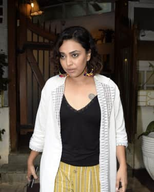 Photos: Swara Bhaskar spotted at Fable
