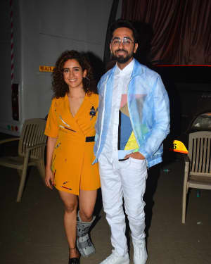 Badhai Ho - Photos: Badhaai Ho Team Spotted at Mehboob Studio