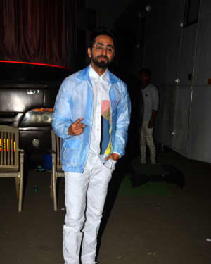 Ayushman Khurana - Photos: Badhaai Ho Team Spotted at Mehboob Studio