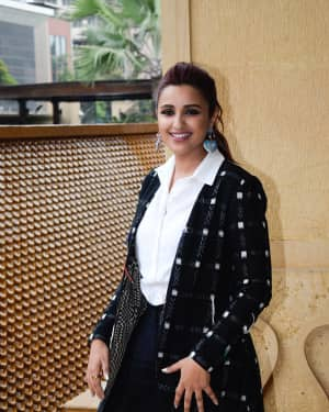 Parineeti Chopra - Photos: Media Interactions of film Namaste England