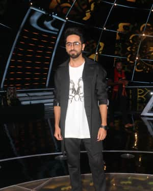 Ayushman Khurana - Photos: Celebs on the sets of Indian Idol at Yashraj studio