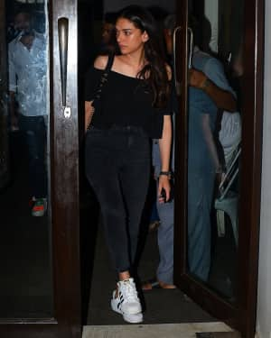 Photos: Aditi Rao Hydari Spotted at Bastian