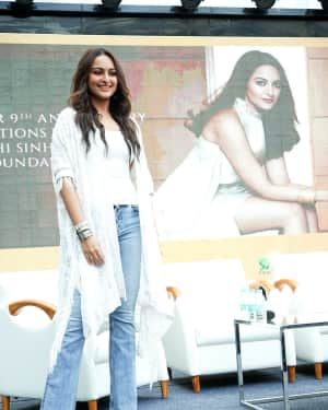 Photos: Sonakshi Sinha at the 9th anniversary celebration of Palladium lower parel | Picture 1603899
