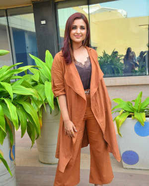 Parineeti Chopra - Photos: Media Interaction for film Namaste England at Novotel