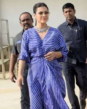 Kajol - Photos: Meet & Greet session for film Helicopter Eela