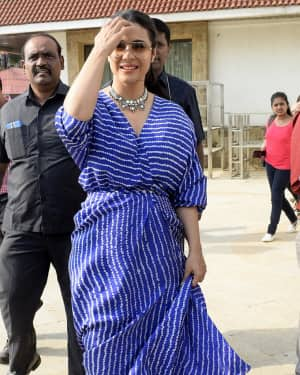 Kajol - Photos: Meet & Greet session for film Helicopter Eela   Picture 1604296