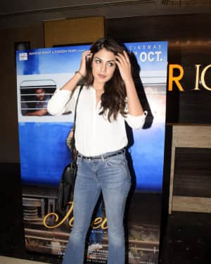 Rhea Chakraborty - Photos: Screening of film Jalebi at pvr icon | 1604453