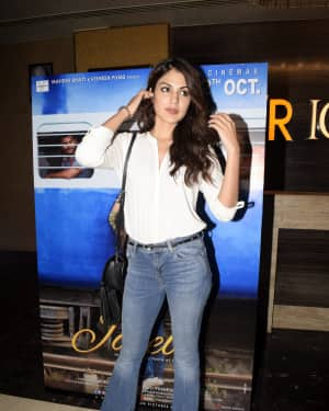 Rhea Chakraborty - Photos: Screening of film Jalebi at pvr icon