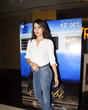Rhea Chakraborty - Photos: Screening of film Jalebi at pvr icon | 1604444