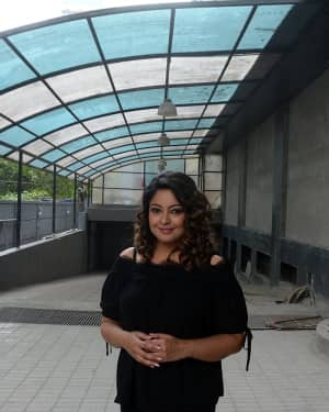 Photos: Tanushree Dutta Spotted Outside A Media House Post An Interview