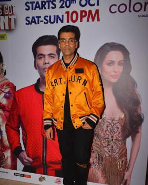 Karan Johar - Photos: Launch of India's got talent at Trident