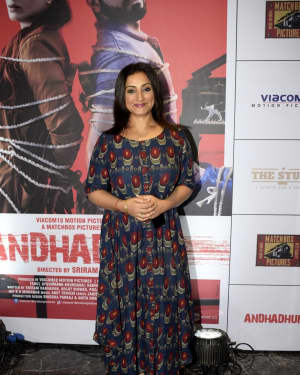 Divya Dutta - Photos: Success Party of Film Andhadhun