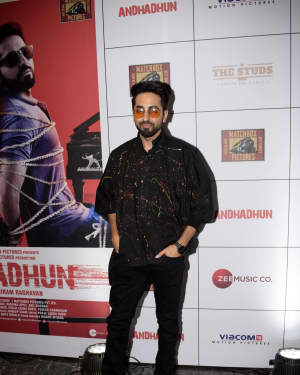 Ayushmann Khurrana - Photos: Success Party of Film Andhadhun | Picture 1604877