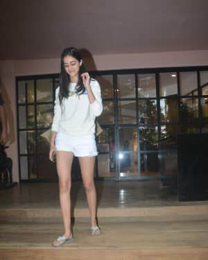 Photos: Ananya Pandey Spotted At Monisha Jaisingh Store