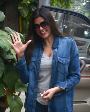 Photos: Sushmita Sen Spotted At Bandra