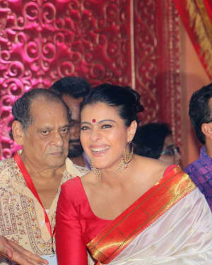 Kajol - Photos: Celebs At The North Bombay Sarbojanin Durga Puja