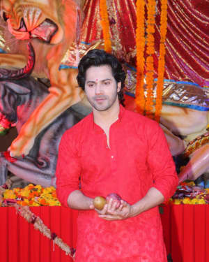 Varun Dhawan - Photos: Celebs At The North Bombay Sarbojanin Durga Puja