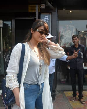 Photos: Ileana Dcruz Spotted At Bastian