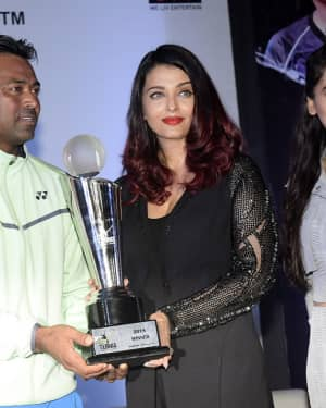 Aishwarya Rai - Photos: Aishwarya Rai & Leander Paes Inaugurate India's First Tennis Premier League