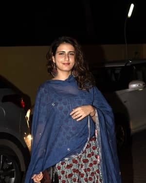 Fatima Sana Shaikh - Photos: Screening of Badhai Ho