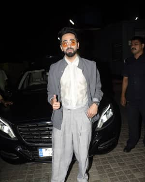 Ayushman Khurana - Photos: Screening of Badhai Ho