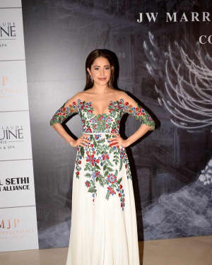 Nushrat Bharucha - Photos: Red Carpet for Manish Malhotra new collection Haute Couture
