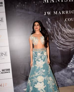 Jahnavi Kapoor - Photos: Red Carpet for Manish Malhotra new collection Haute Couture