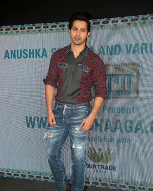 Varun Dhawan - Photos: Sui Dhaga Event At Yashraj Studios