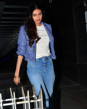 Photos: Athiya Shetty Spotted At Hakkasan In Bandra