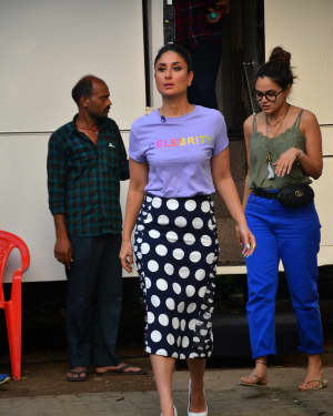Photos: Kareena Kapoor spotted at Mehboob Studio
