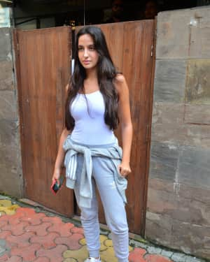 Photos: Nora Fatehi Spotted at Indigo in Bandra