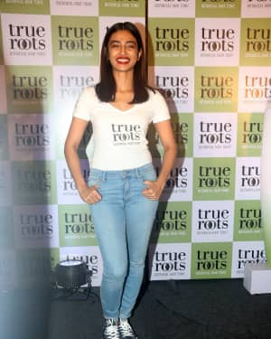 Photos: Radhika Apte at the launch of Marico's botanical hair tonic