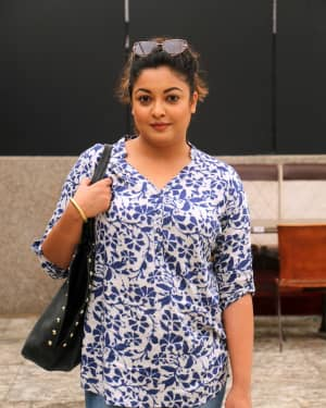 Photos: Tanushree Dutta interacts with media for the M2 campaign