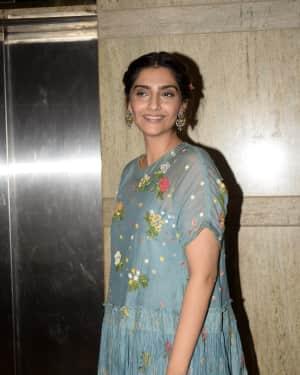 Sonam Kapoor Ahuja - Photos: Ek Ladki Ko Dekha Toh Aisa Laga Screening at The View in Andheri