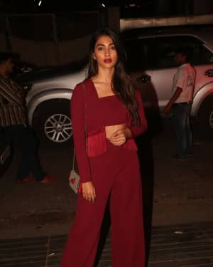 Pooja Hegde - Photos: Nora Fatehi B'Day Party at Bandra