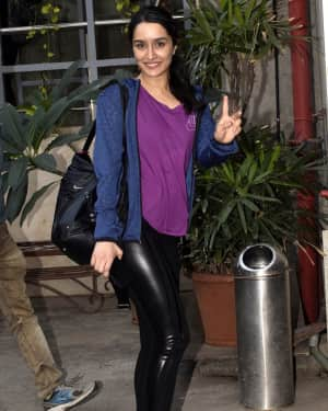 Photos: Shraddha Kapoor Spotted at Dance Class