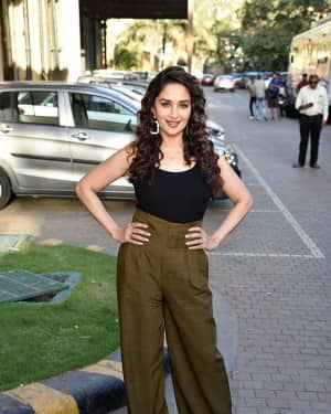 Madhuri Dixit - Photos: Interview With Star Cast Of 'Total Dhamaal'